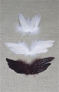 Billede af Englevinger type 3-2 - hvid