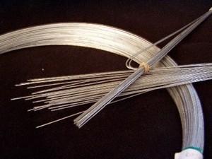 Billede af Ståltråd til 2 stk. 40 cm. figurer