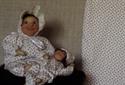 Billede af Babystof småblomstret jersey