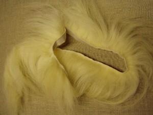 Billede af Langhåret pelsskind, hvid