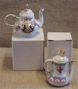 Billede af Thekande i porcelæn