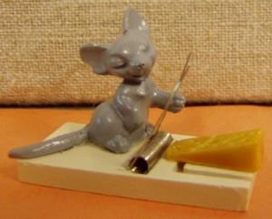 Billede af Lille musefælde med ost og mus