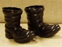 Billede af Store, sorte nissestøvler