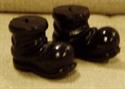 Billede af Små, sorte nissestøvler