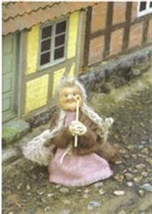 Billede af Kort med Den lille pige med svovlstikkerne