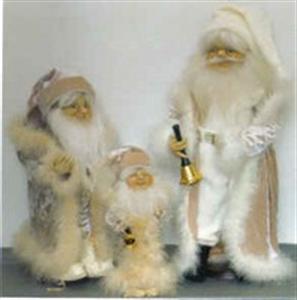 Billede af Lys Julemand 40 cm