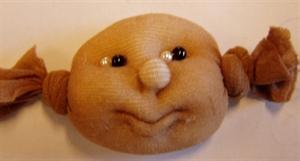 Billede af smilende ansigt  til 16 cm. figurer