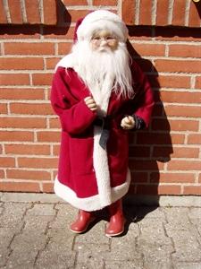Billede af Julemand m/plys 90 cm
