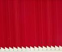 Billede af Rødstribet stof