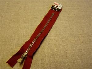 Billede af Rustfarvet lynlås 12 cm.