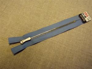Billede af Lyseblå lynlås 15 cm.