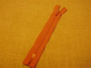 Billede af Karrygul lynlås 15 cm. nylon