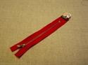 Billede af Rød lynlås 20 cm