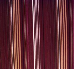 Billede af Stribet  bordeaux,beige,brun,sort