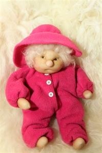Billede af Nem dukke  pink   40 cm.