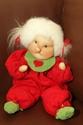 Billede af Nem dukke  40 cm. rød