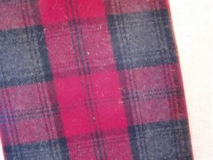 Billede af Ternet uld grå/sort/rød