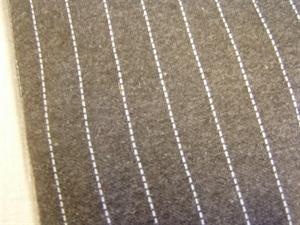Billede af Grå jersey med lys stribe