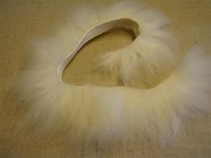 Billede af Hvid korthåret pelsstrimmel