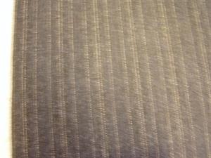 Billede af Sort buksestof let stribe