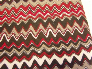 Billede af Mønstret jerseystof